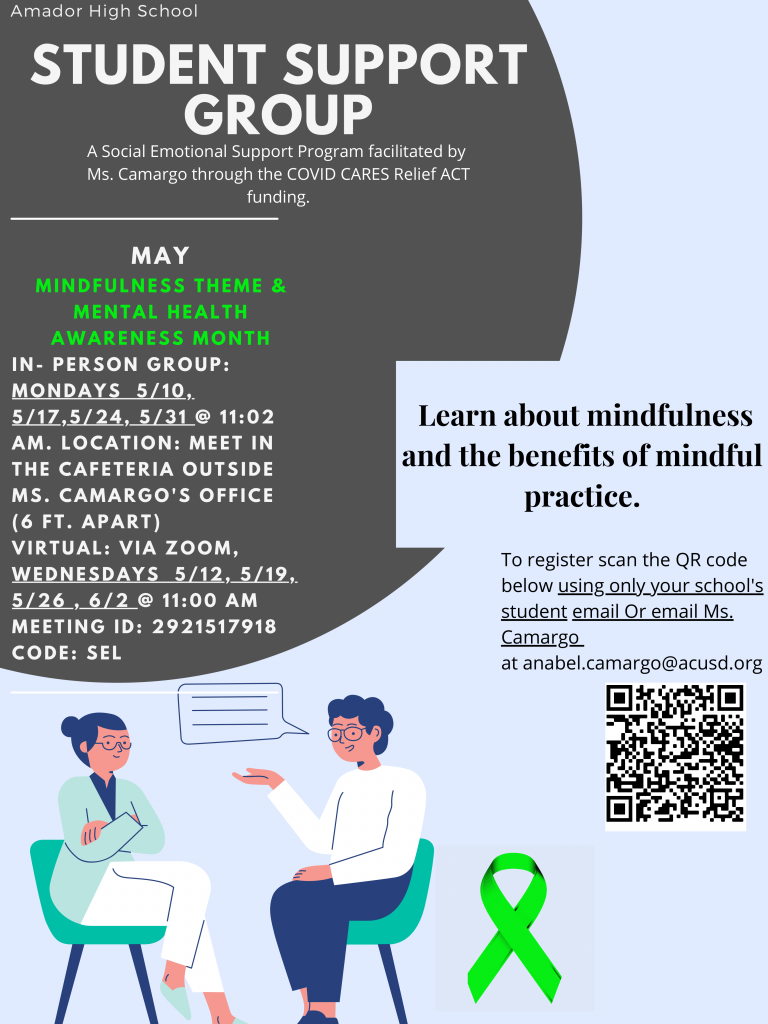 May is Mindfulness & Mental Health Awareness Month